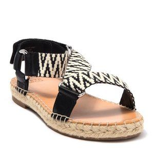 Frye Kole Asymmetrical Espadrille Sandals Size 6